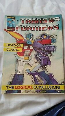 Marvel UK's The Transformers issue 40