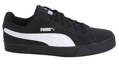 f615d43e122 PUMA SMASH VULC Sneakers Mens Gents Low Laces Fastened Padded Ankle ...