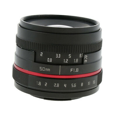 For Fujifilm X-PRO1 2 Prime Fixed Lens 50mm Focal Length F1.8 Large Aperture