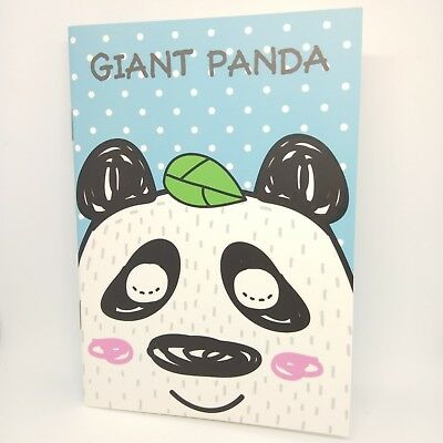 Mini Notebook Blank Notepad Journal Pocket Travel Diary Paper Cute Giant Panda