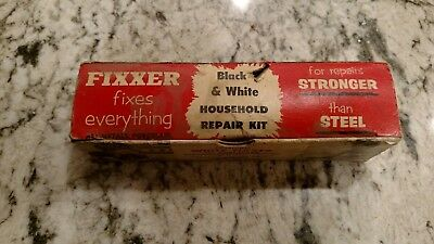 White And Black Fixxer for Porcelain antique household repair kit