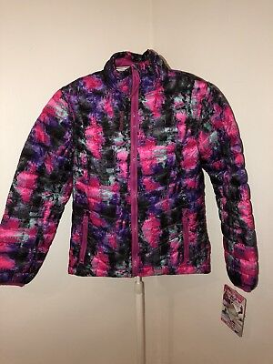 New Girls Packable Reebook Fall Puffer In Size 7/8