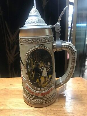 VTG ANHEUSER BUSCH,LIMITED ED. AGING &COOPERAGE PROCESS STEIN,FROM17th CENTURY
