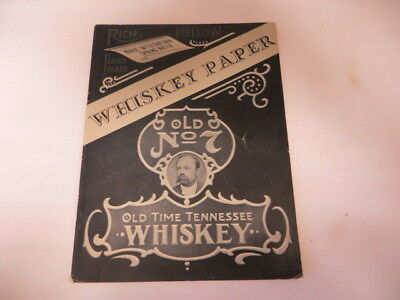Book On All The Different Whiskey Labels Called Whiskey Paper 1980 Robert Synder