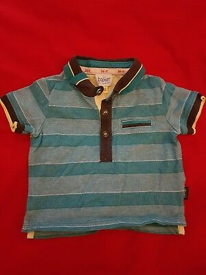 Ted Baker Collered T-shirt 3-6 Months