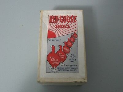"""vintage Shoe box; Red Goose Shoes BOX ONLY;Friedman Shelby; 7.5"""" L X 4.25""""W"""