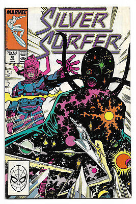 Silver Surfer #10 & #11 Galactus 1st appearance of Cap'n Reptyl