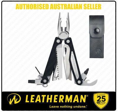 Leatherman CHARGE ALX Aluminium MultiTool +Leather + Classic Red