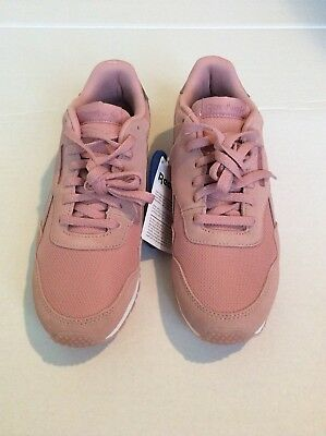 New Reebok Women s Athletic Shoes Pink Sneaker Royal Foam Lite Ortholite Sz  ... 657d5b44d