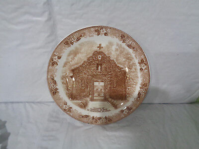 St. Augustine, FL - Mission Of Nombre De Dios - Old English Staffordshire Plate
