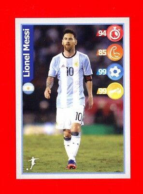 WC RUSSIA 2018 Panini - Figurina-Sticker KELLOG'S - MESSI - ARGENTINA -New