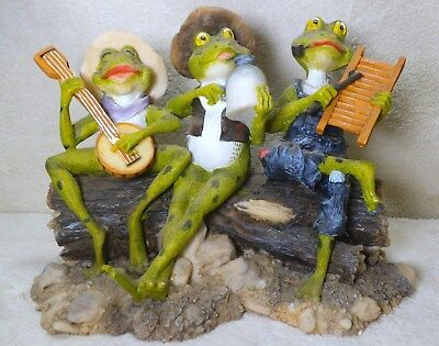 frogs hillbilly musical band - a very nice piece