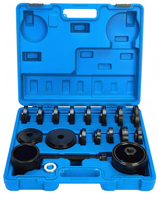 8milelake 21pc FWD Front Wheel Tool Kit Drive Bearing Removal Adapter New Puller