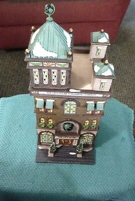 """Dept 56 Christmas In The City""""The City Globe""""1997 58883 Used"""