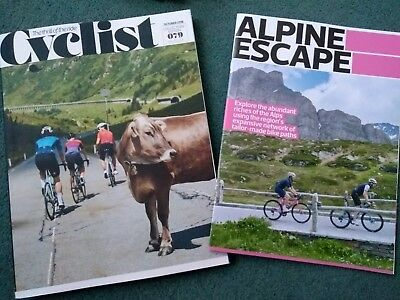CYCLIST MAGAZINE COLLECTORS EDITION, October 2018, issue 079 with Alpine Escape