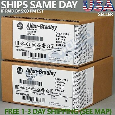 2018 *new Factory Sealed* Allen Bradley 150-C16Nbd Ser B Smart Motor Controller