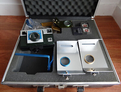 Kodak Instatech X Vintage Camera for Dentist with Accessories and Case