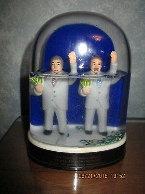 VINTAGE CELOZZI-ETTLESON CHEVROLET SNOW GLOBE Chicago Advertising