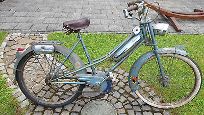 Peugeot Bima Grand Luxe, 50er Jahre Moped, Patina, alles original