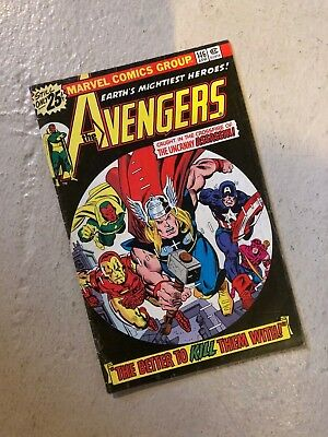 Avengers #146 Bronze Age Marvel Comics Ant Man Wasp Scarlet Witch Falcon 1976.