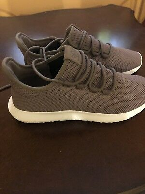 NEW! Men's adidas Originals TUBULAR SHADOW Knit SHOES BY4392 JD Brown