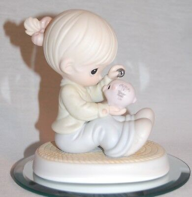 "Precious Moments 526827 "" You Can Always Count On Me "" 1995 Limited Edition ;"