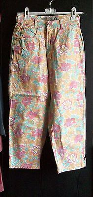 Vintage Hose,Jeans,High waist,gr.36,Colours of the World,Hippi Style,100%Baumw