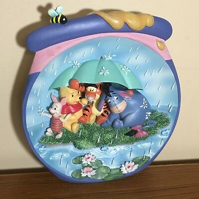 Disney Poohs Hunnypot Adventures Plate   7 Inches   Numbered