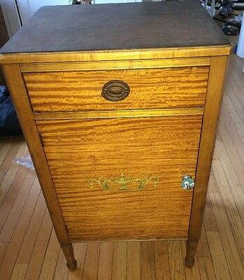 1900's Antique Hill-Rom Medical Industrial Cabinet Very Rare and Unique