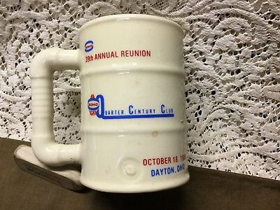 Sohio 39Th Reunion Ceramic Mug, Quarter Century Club, 1980 Dayton,ohio