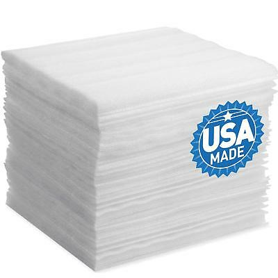 Foam Wraps, DAT Foam Sheets Cushioning for Moving Storage Packing, 50-Pack