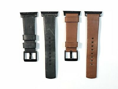 NOMAD Modern Leather Strap for Apple Watch 42mm - Rustic Brown