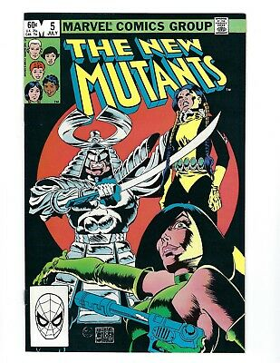 The New Mutants #5 (JULY 1983) SOLID NM