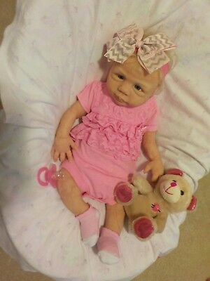 Melissa McCrory 18 Inch Full Body Silicone Sweet Baby Girl Ecoflex 20