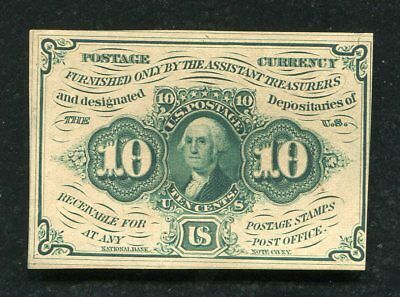 Fr. 1242 10 Ten Cents First Issue Fractional Currency Note Uncirculated