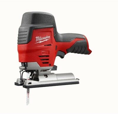Cordless Jig Saw 2445-20 Milwaukee M12 12-Volt Lithium-Ion Compact (Tool-Only)