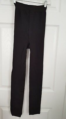 maternity tights by Assets,Marvelous Mama,sz lg,black,made in the usa