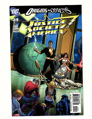 Justice Society of America #24 (2009, DC) NM- Black Adam Variant Cover Ordway