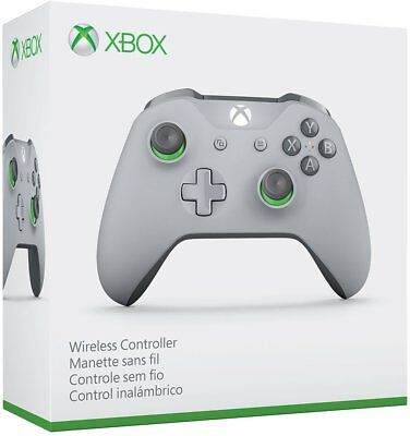 NEW - Xbox One S Controller Grey & Green - FREE SHIPPING