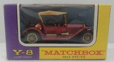 Blechspielzeug Stutz 1914 Matchbox Made In England By Lesney Nr 6