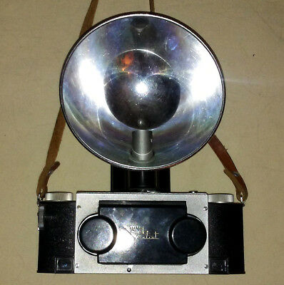 David White Stereo Realist 35mm Camera - with Flash!