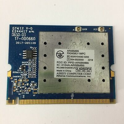 AR5BMB5 PA3458U 1MPC DRIVERS FOR PC