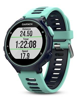 Garmin Forerunner 735xt GPS Multisport Watch in Frost Blue