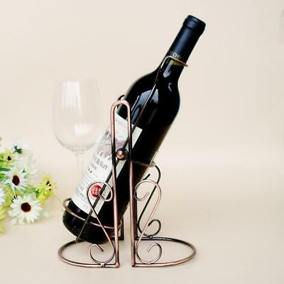 TYJ-005 Red Wine Bottle Rack Holder Wire Metal Wall Shelf Table Stand Home Decor