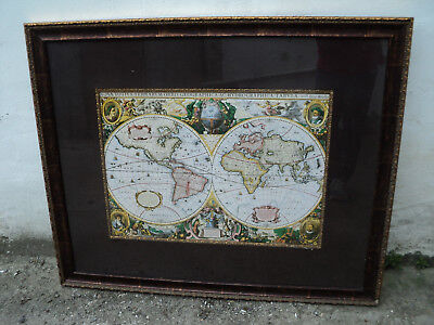 Henr Hondio, Nova Totivs Terrarvm Orbis Geographica  MAP OF THE WORLD,  1630?