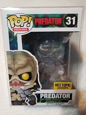 Funko POP! Predator *Hot Topic Exclusive* #31 (Clear) (Bloody)