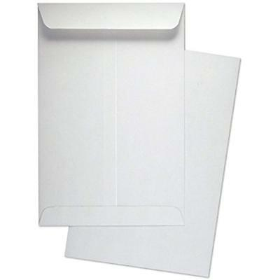 "Catalog Envelopes 6"" X 9"" Premium White Wove / Open End Envelopes, 500 Count-"