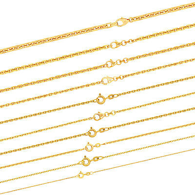 Massive Goldkette Ankerkette diamantiert 333 - 585 - 750 Gold Juwelier Qualitõt