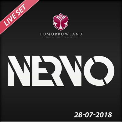 Nervo - Live @ Tomorrowland 2018 (Belgien) – 28-07-2018  –  AUDIO CD