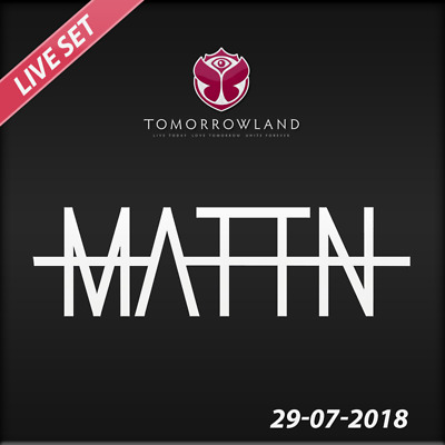 MATTN - Live @ Tomorrowland 2018 (Belgien) – 29-07-2018  –  AUDIO CD